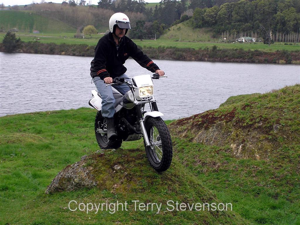 Yamaha Tw200 In Action 2004 2 Freelance Motorcycle